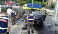 VEZIRHAN - Minibüs Tıra Çarptı Açıklaması 3 Ölü