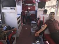 HÜKÜMET KONAĞI - Muş'ta Kan Bağışına Yoğun İlgi