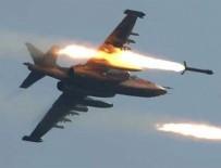 HAVA SALDIRISI - ABD Suriye'yi vurdu