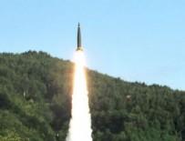 FÜZE DENEMESİ - ABD ile Kuzey Kore'nin füze düellosu