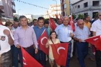 ORHAN HAKALMAZ - Anamur'da Festival Yürüyüşü Ve Orhan Hakalmaz Konseri
