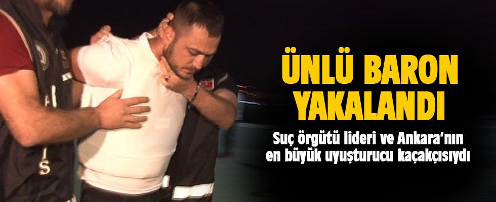 Ankara'nın en büyük uyuşturucu kaçakçısı gözaltına alındı