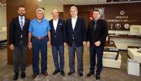 AĞIR VASITA - Başkan Karaosmanoğlu, TOSB Başkanını Ağırladı