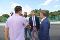 Başkan Şirin'den Urganlı Köprüsünde İnceleme