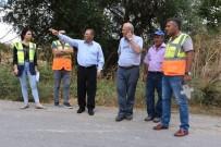 ESENLI - Bigadiç'te Başkan Avcu, Esenli'de Yol Yapım Çalışmalarını İnceledi