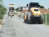 ÇAVUŞLU - Eyyübiye Kırsalında Asfaltlama Çalışmaları Sürüyor