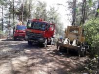 AMANOS DAĞLARI - Hatay'daki Orman Yangını Kontrol Altına Alındı