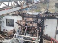 İhsaniye'de Ev Yangını