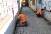 Kurtuluş Mahallesi'nde Parke Taşı Çalışmaları Başladı