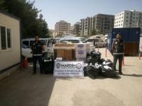 Mardin'de 31 Bin Paket Kaçak Sigara Ele Geçirildi