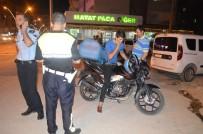 Mardin'de Trafikçiler Motosiklet Sürücülerini  Kıskaca Aldı