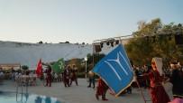 SEMA RAMAZANOĞLU - Pamukkale Travertenleri Manzaralı Günbatımında Mehter Gösterisi İzleyenleri Büyüledi