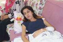 SOKAK KÖPEĞİ - Sokak köpeklerinin saldırısına uğrayan genç kız yaralandı