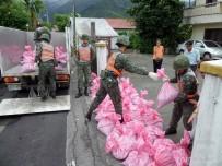 TAYVAN - Tayvan'da Nesat Tayfunu uyarısı