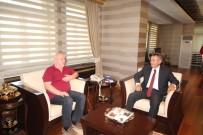 AHMET GENÇ - TGK Genel Başkanı Kolaylı'dan Vali Elban'a Ziyaret