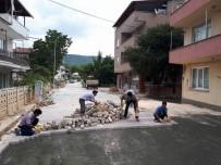 VEZIRHAN - Vezirhan'da Asfalt Çalışmaları Devam Ediyor