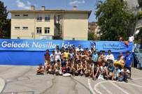 AKMESCIT - Yunusemre'den Üç Okula Yüzme Havuzu