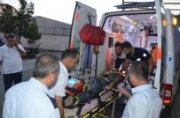 KILIMLI - Zonguldak'ta Tren Motosiklete Çarptı Açıklaması 1 Yaralı