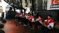 ALMANLAR - Almanya'da Sahneden İndirilen Öğrenciler O Anları Anlattı