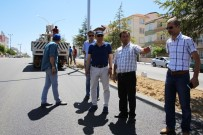 ERTUĞRUL ÇALIŞKAN - Alparslan Türkeş Bulvarında Asfaltlama Çalışması