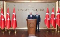 HÜSEYIN AKSOY - Bakan Fikri Işık'tan, Vali Hüseyin Aksoy'a Ziyaret