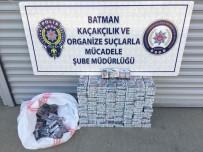 BATMAN EMNİYET MÜDÜRLÜĞÜ - Batman'da 7 Bin 790 Paket Kaçak Sigara Ele Geçirildi