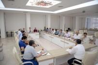 ŞEYH EDEBALI - Bilecik Belediye Başkanı Yağcı, Haftalık İstişare Toplantısı Gerçekleştirdi