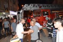 Çatıya Çıkan Vatandaş Polise Zor Anlar Yaşattı