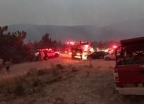 ORMAN İŞÇİSİ - Denizli'de Çıkan Orman Yangınında İki Köy Boşaltıldı
