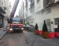 VATAN CADDESİ - Fatih'te Korkutan Otel Yangını