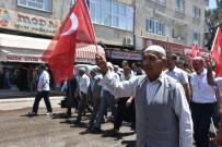ABDURRAHMAN TOPRAK - Kahta'da Teröre Tepki Yürüyüşü