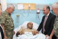 ŞIRNAK VALİSİ - Korgeneral Çetin, Yaralı Güvenlik Korucularını Ziyaret Etti