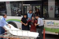 BELEDIYE OTOBÜSÜ - Sıcaktan Bayılan Yolcuyu Otobüsle Hastaneye Getirdi