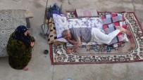 ELEKTRİK FATURASI - Sıcaktan Bunalan Vatandaşlar Teraslarda Yatıyor