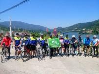 SAKLI CENNET - Saklı Cennet Şelalesi'ne Bisiklet Turu