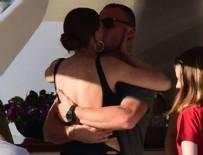 SERENAY SARIKAYA - Serenay Sarıkaya, sevgilisi Kerem Bürsin'i öpücüğe boğdu