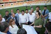 SELAHATTIN GÜRKAN - Bakan Tüfenkci, Cumhurbaşkanı Erdoğan'ın Açılışını Yapacağı Statta İncelemelerde Bulundu