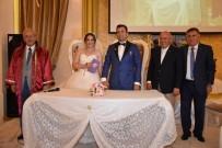 NİKAH TÖRENİ - Başkan Albayrak, Ayşegül Ve Yusuf Çiftinin Mutluluklarına Ortak Oldu