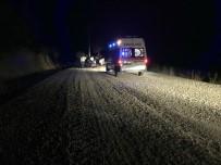 AŞIRI HIZ - Denizli'de Motosiklet Kazası Açıklaması 1 Yaralı