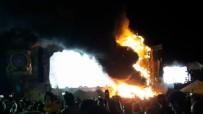 MÜZİK FESTİVALİ - Festivalde Korkutan Yangın