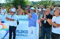 BEYLIKDÜZÜ BELEDIYESI - İstanbul ETU Triatlon Avrupa Kupası Sahiplerini Buldu