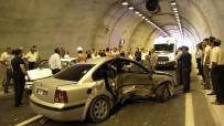 EHLİYETSİZ SÜRÜCÜ - Kahramanmaraş'ta Tünelde Kaza Açıklaması 1 Ölü, 5 Yaralı