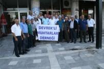 YAKUP GÜNEY - Muhtarlar Çanakkale'yi Gezdi