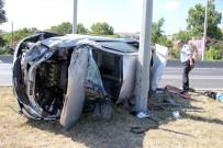 MEHMET KıLıÇ - Samsun'da Tırın Çarptığı Otomobil Takla Attı Açıklaması 1 Yaralı