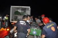Tatil Dönüşü Kaza Açıklaması 2 Ölü, 2 Yaralı