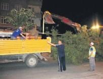AĞAÇ KESİMİ - Tekirdağ'da CHP'li belediyenin ağaç katliamı