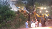 Temizlik Amacıyla Yakılan Ateş Ot Ambarına Sıçradı