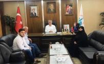 15 Temmuz'un Sembol İsminden Başkan Memiş'e Ziyaret