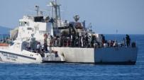 KÜÇÜKKUYU - Çanakkale'de 60 Kaçak Yakalandı