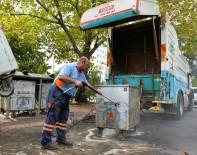 TEMİZLİK ARACI - Çöp Konteynerlerine Yaz Bakımı